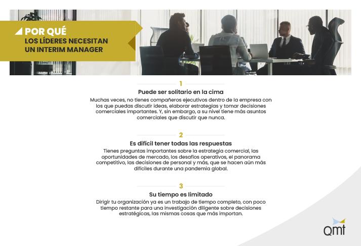 Por qué los líderes necesitan un interim manager